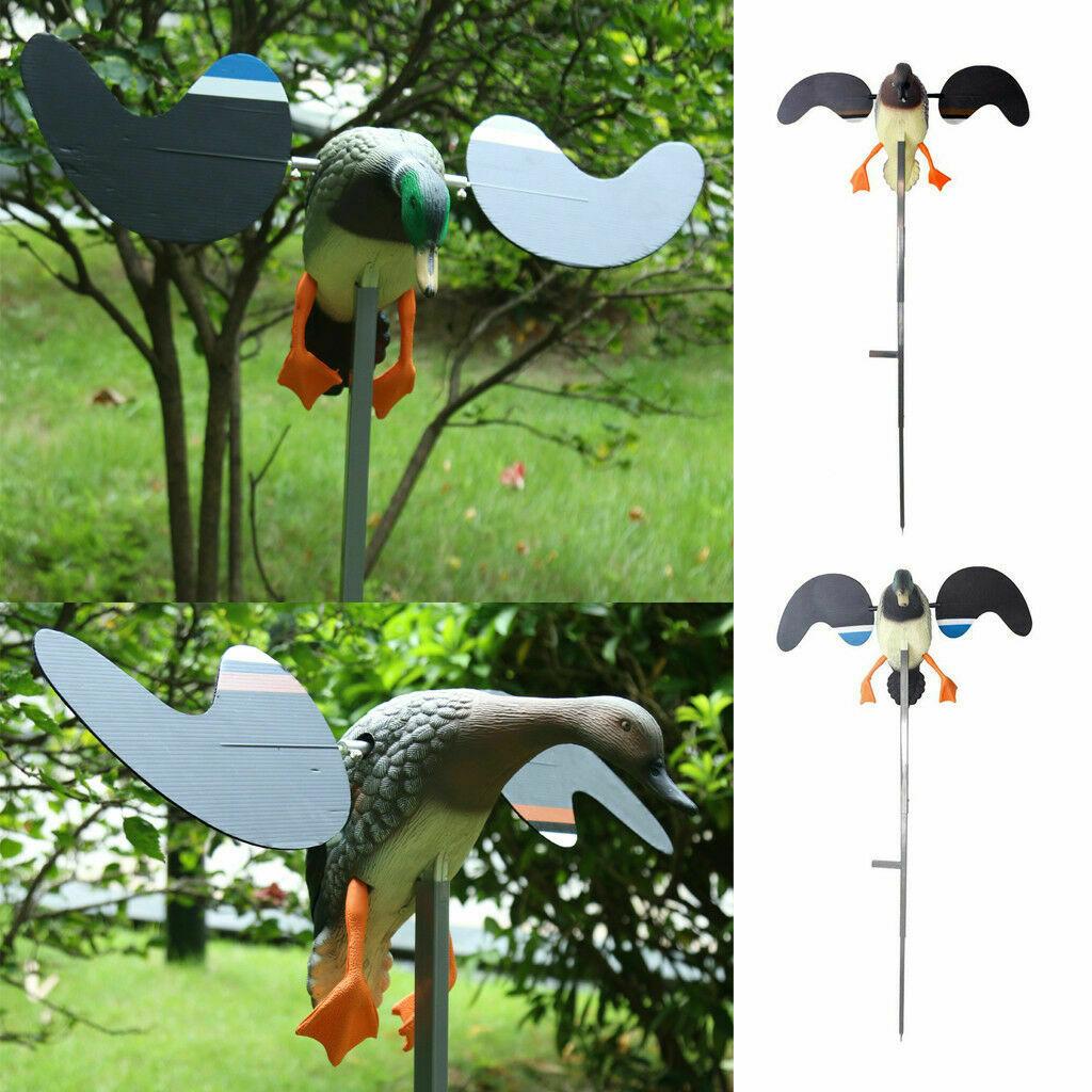 Leurre de canard de chasse PE 3D leurre de canard volant électrique réaliste télécommande mâle/femelle pour la chasse décoration de jardin de jeu