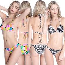 CRESTGOLF Lace-UP Women Bikinis Set Two-piece Bikinis Suits Push Up Swimwear Special Triangle Bikinis,Padded,Wire Free,M to 2XL