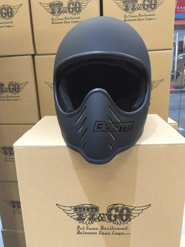 Livraison Gratuite Original authentique Thompson rétro moto hors route helme tchild CLOCHE MOTO2 petit casque corps