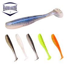 20pcs/lot Saltwater Fishing Lures Shad Soft Bait 6.5cm 1.9g Isca Artificial Baits Carp Sea Silicone Pesca