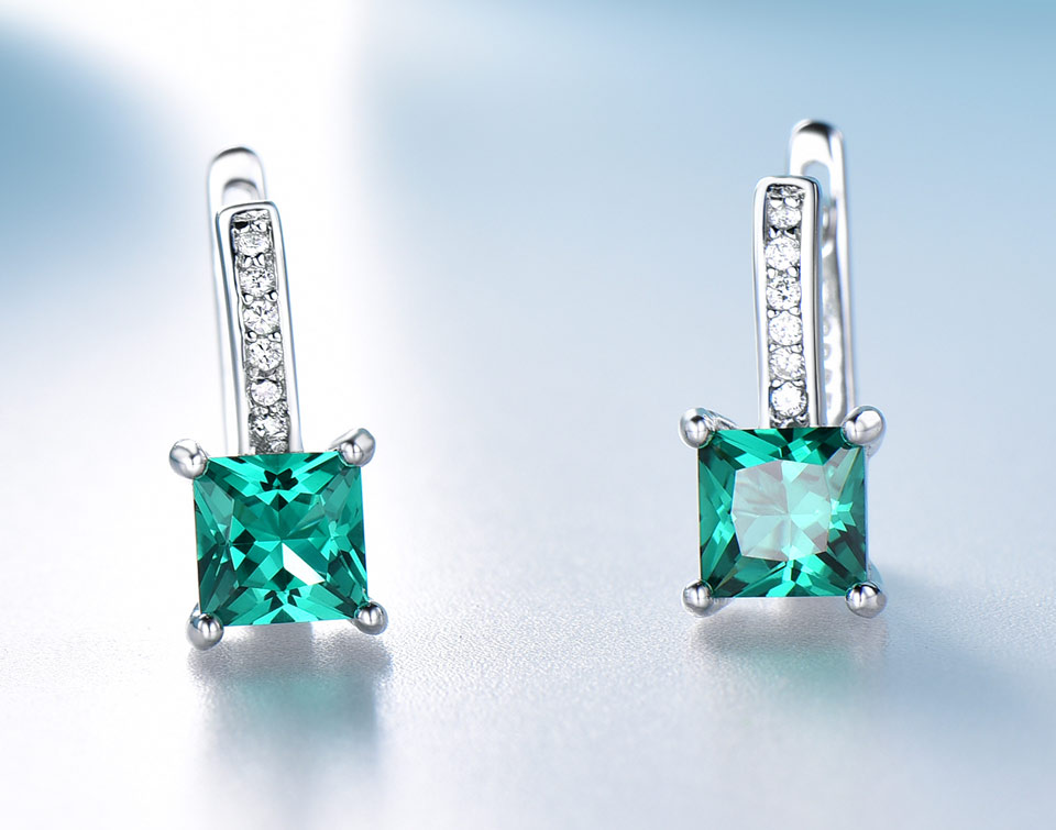 UMCHO-Emerald-silver-sterling-jewelry set-for-women-S005E-1 (7)