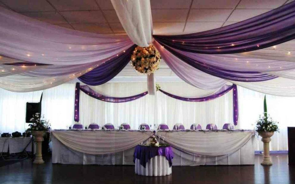 10pcs Lot Wedding Ceiling Draper Canopy Drapery 10mx0 7m