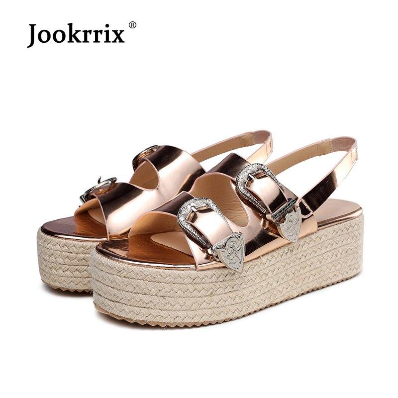 Jookrrix Shoes Women Platform Sandals Summer New zapatos de mujer Fashion Brand sandalias mujer chaussures femme Ladies footware
