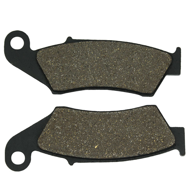 Cyleto Motorcycle Front Brake Pads for YAMAHA WR450F <font><b>WR</b></font> <font><b>450F</b></font> WR450 <font><b>WR</b></font> 450 2003-2013 YZ450F YZ <font><b>450F</b></font> 2003-2007 image