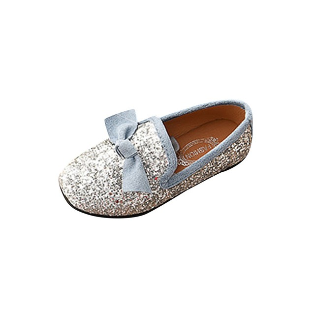 Kids Shoes Children Kid Baby Girls Bowknot Crystal Bling Single Princess Party Dance Shoes Baby Shoes Fashion zheng140 3