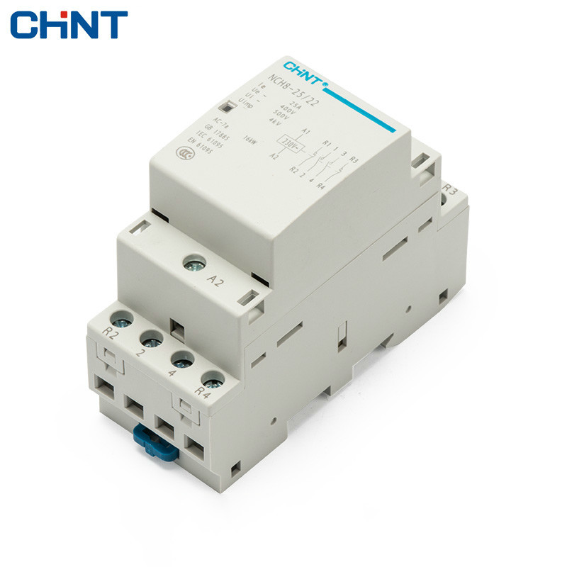 CHINT Household Communication Contactor NCH8-25/22 220V Guide Type Two Normally Open Two Often Close 4P 25A