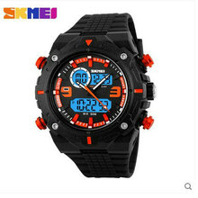 China Wholesale Custom Plastic Cool Light Fashion Big Mens Watches