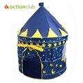 105X135 см Сверхбольших Детей Пляж Палатка, детские Игрушки Играть В Игру Дом, дети Принц Замок в Помещении Открытый Игрушки Палатки HT2426