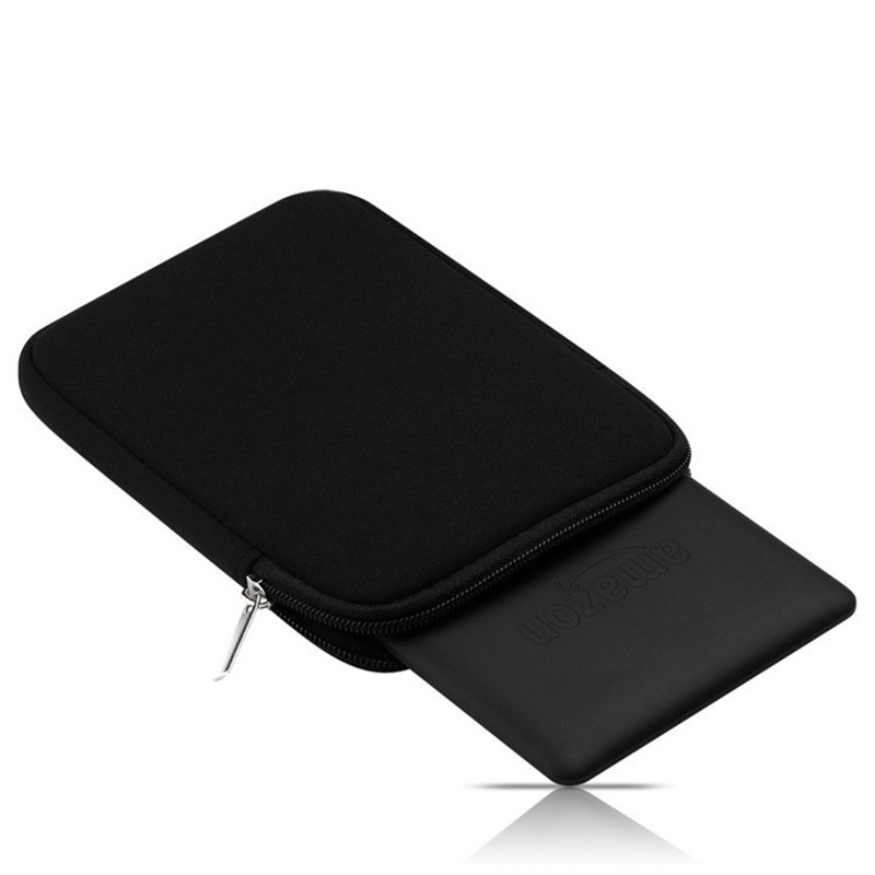 Soft Tablet Liner Pouch Sleeve Bag for Kindle Paperwhite 1/2/3 Voyage 7th 8th Gen Pocketbook 622 Tablet Case Cover +Stylus Pen