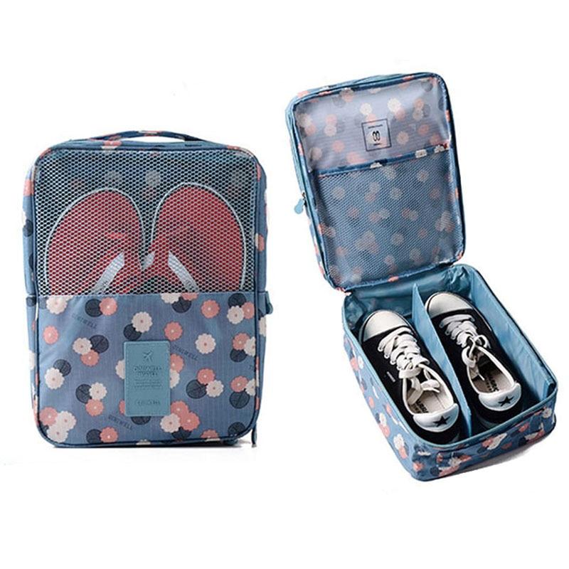 Bolsa de zapatos de viaje impermeable Organizador de almacenamiento - Organización y almacenamiento en la casa