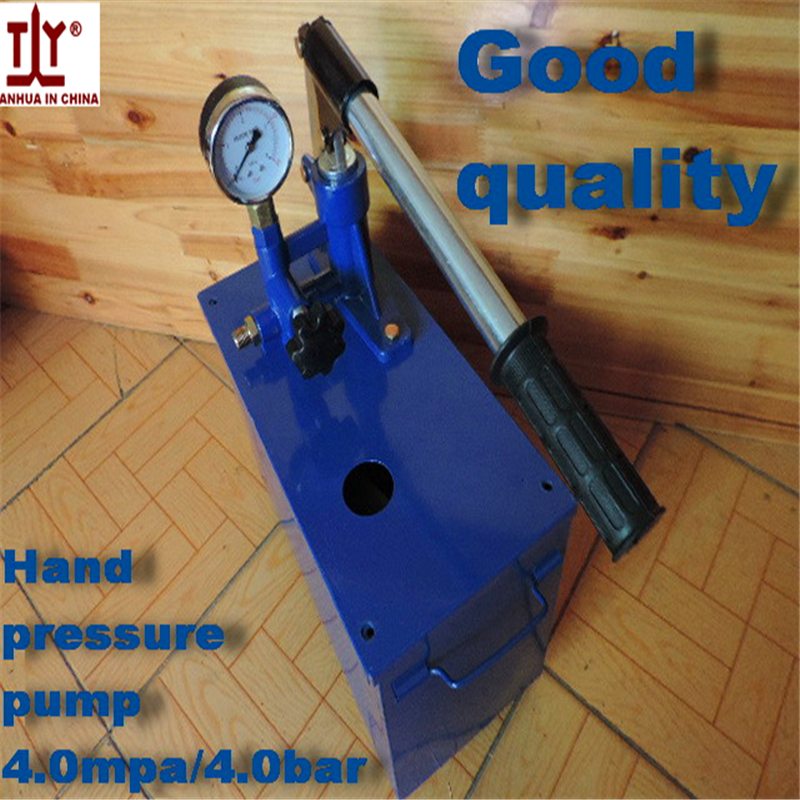 Free shipping Plumber tools manual pressure test pump hydraulic pump 4mpa/4bar Water pressure Hot sale in China testing free shipping hand tool manual 4 mpa 40kg pressure test pump water pressure testing hydraulic pump 42mm pipe cutter free for you