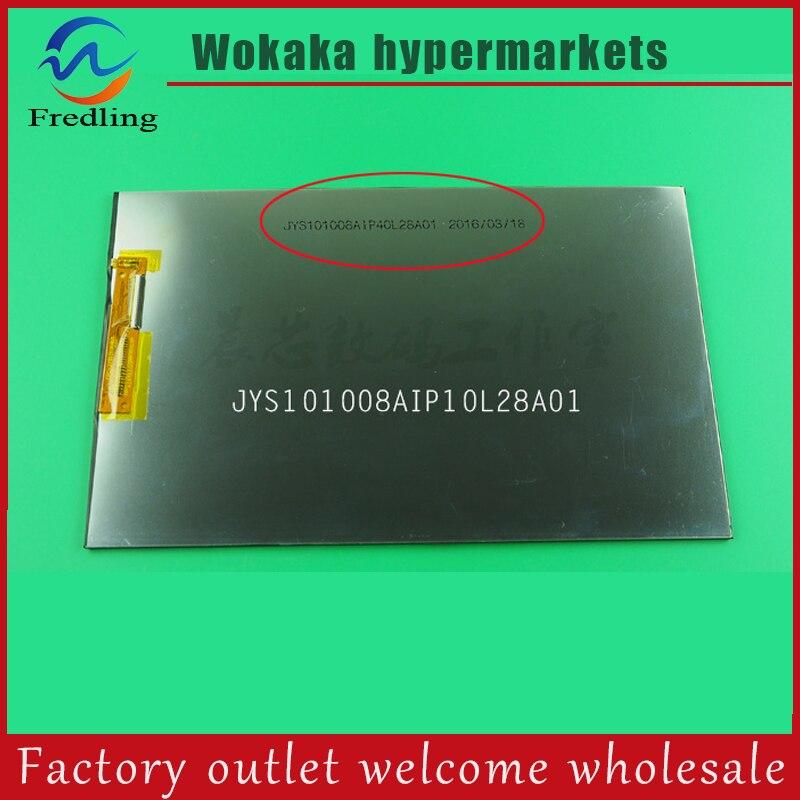 10.1 inch LCD screen for Teclast X10 3G lcd display free shipping 7 inches e x10 gps display screen luhang lcd screen gl070009t0 40 tkr7040b
