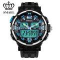 Analógico-Digital Dual Time Relógios para Homens À Prova D' Água LED Sport Watch Digital com Caixa de Presente Relógios Militar Do Exército Masculino ClockWS1360