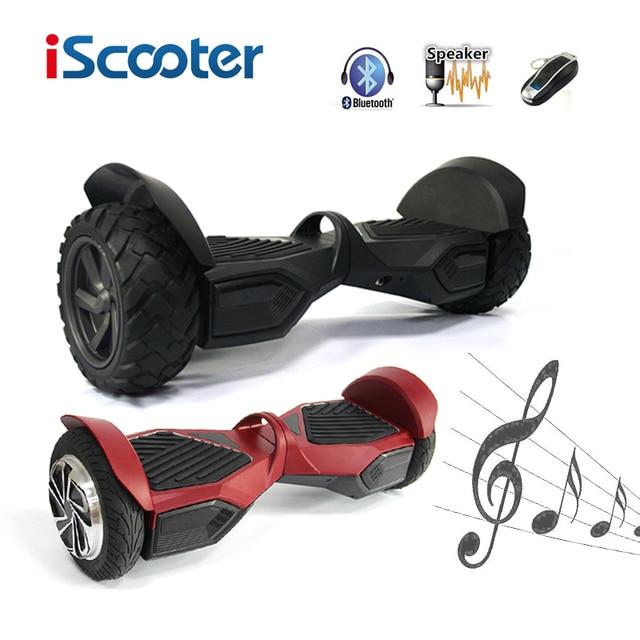 Hoverboard Два Колеса Электрический Скутер Умный Баланс Скутер 10 дюймов Hoverboard Смарт-Скейтборд Roller have UL2272 iScooter