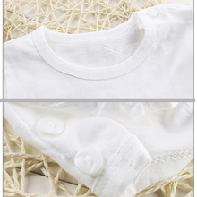 Summer Fashion Girls & Boys T Shirt Short Sleeve 2017 New Soft Children's Shirt Cotton Tops Cartoon Clothes White Kid T-Shirts