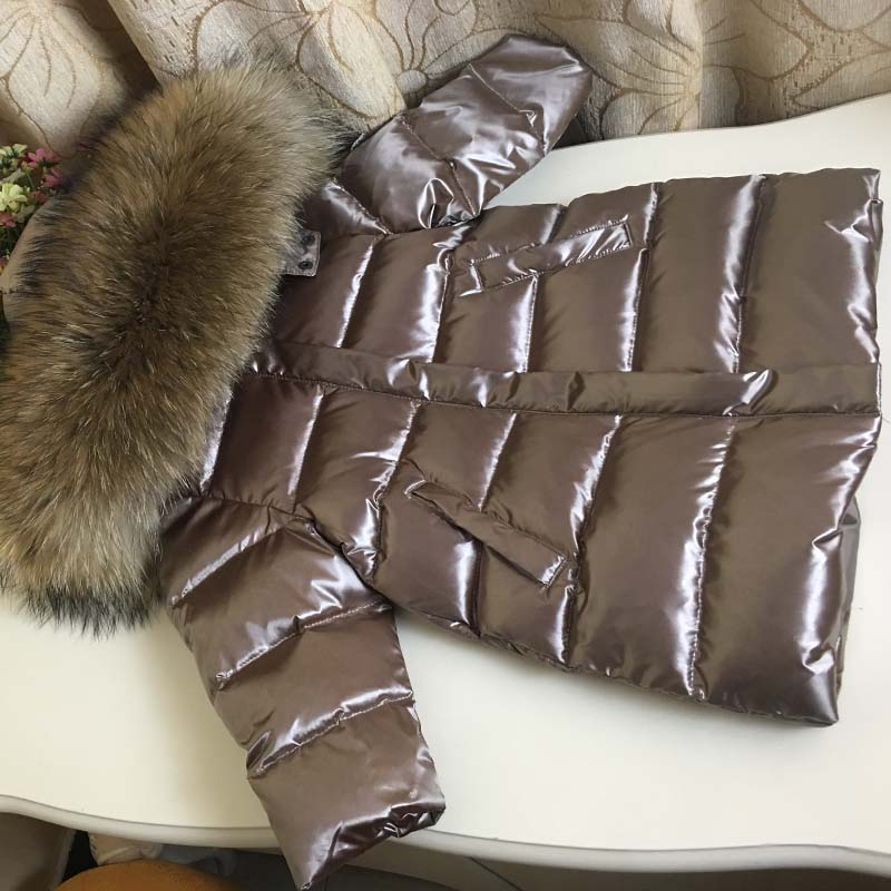 Hiver russe 0-10 Y enfants manteau d'hiver longue doudoune imperméable à l'eau vraie fourrure épais garçons filles Snowsuit vêtements pour enfants manteau Z146