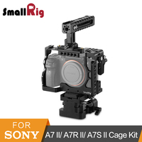 SmallRig A7II A7ii Camera Cage Accessory Kit for Sony A7 II/ A7R II/ A7S II Cage+Handle+Baseplate+HDMI Clamp 2150