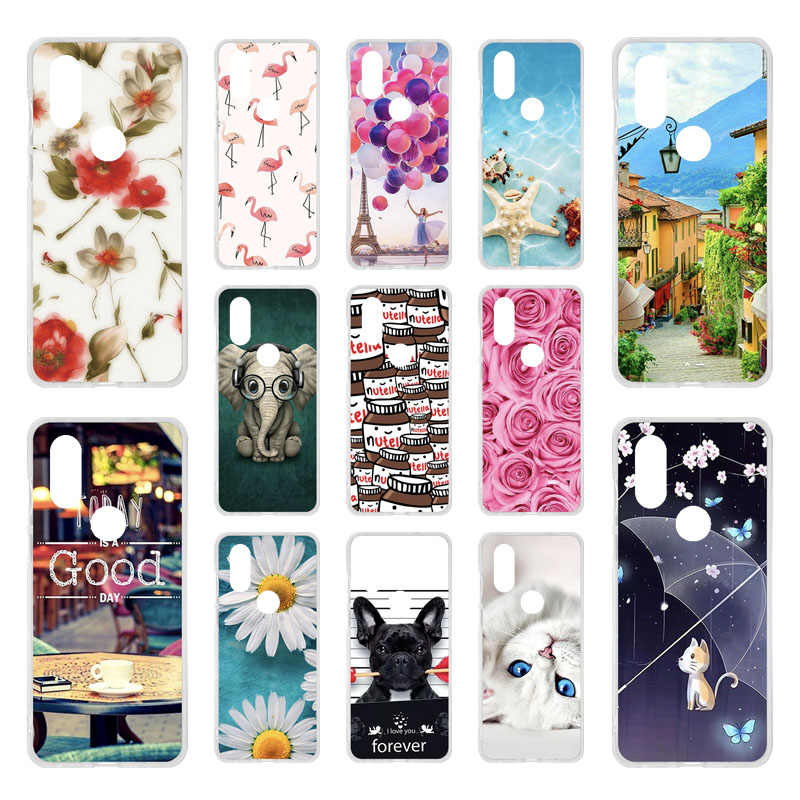 Case SFor Motorola Moto One Vision Cases Silicon DIY Painted Phone Coque For Moto One Power Action G8 Plus G8 Play Covers Bumper