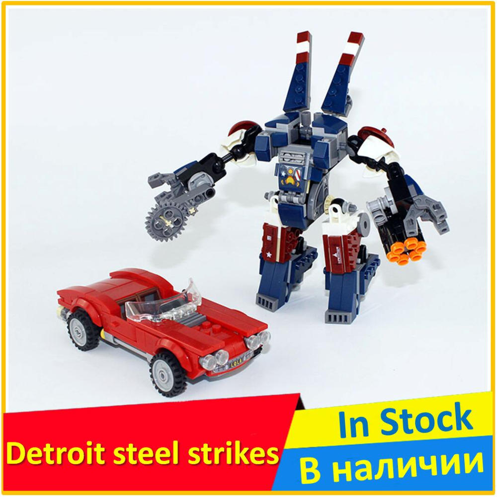 Iron man Detroit steel strikes 76077 Building Blocks Model Toys For Children SY 875 Compatible legoed Super Heroes Bricks Figure lecgos 8pcs lot captain america iron man building blocks sets children model bricks toys lecgos compatible