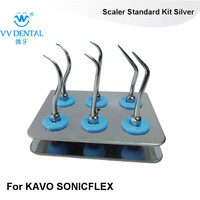3sets KASKS CARE DENTAL KIT OF TOOTH TREAMENT FIT AIR SCALERS KAVO SIRONA KOMENT STAINLESS STEEL DENTAL INSTRUMENTS