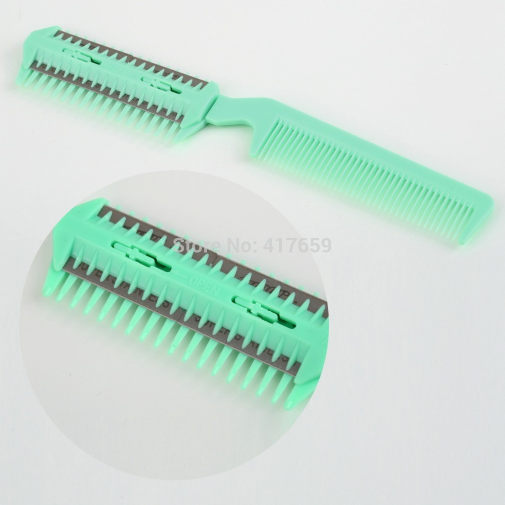 1pcs New Arrival Thinning Trimmer Hairdressing Hair Razor Comb