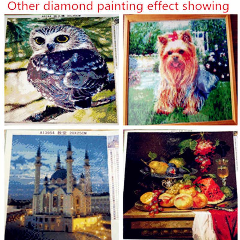 Diy Алмазный рисунок дрель полный наклейки на стену со стразами Вышивка крестиком Картина голубь мира и цветы модный Декор