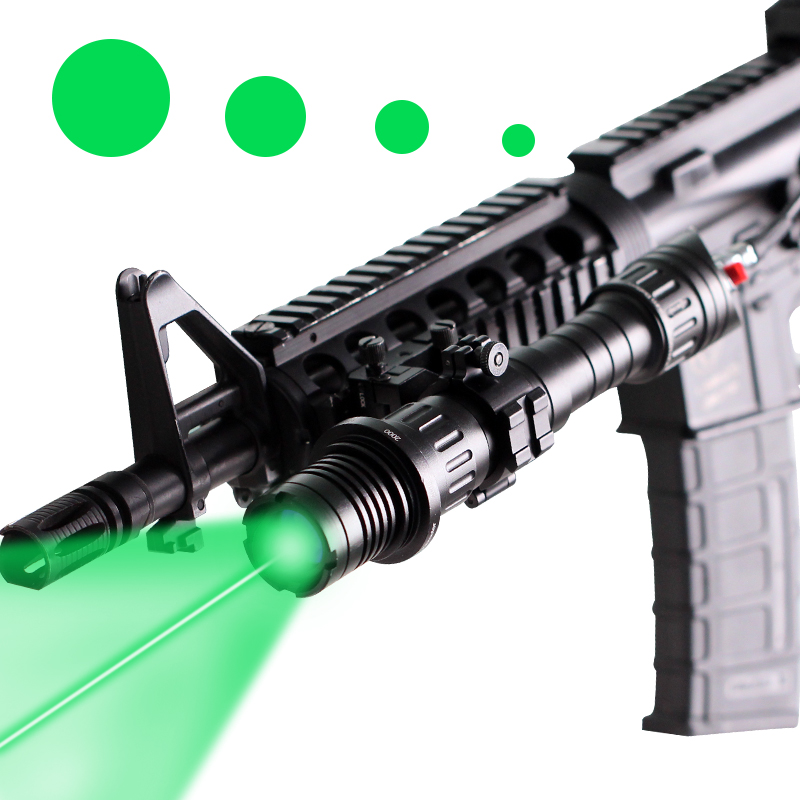 Tactical Green Laser Flashlight Laser Spot Size Adjustable Hunting Ar15 M16 Picatinny Laser Designator Illuminator Sight ScopeTactical Green Laser Flashlight Laser Spot Size Adjustable Hunting Ar15 M16 Picatinny Laser Designator Illuminator Sight Scope