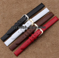 Wholesale Child Women Watchbands,6mm 7mm 8mm 10mm Watch Band Strap Belt,smooth Polished steel buckle clasp Black Brown Red White