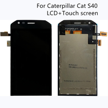 4.7 inch LCD Display For Caterpillar Cat S40 Touch screen digitizer replacement for S40 Screen lcd display Repair kit+Free Tools цены онлайн