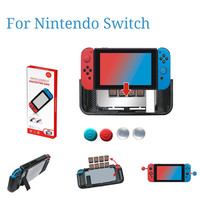 Protective Case For Nintend O Switch Protection Case Cover 6 In 1 TPU Set + Rocker Cap Cases Covers For Swimming Good Handle