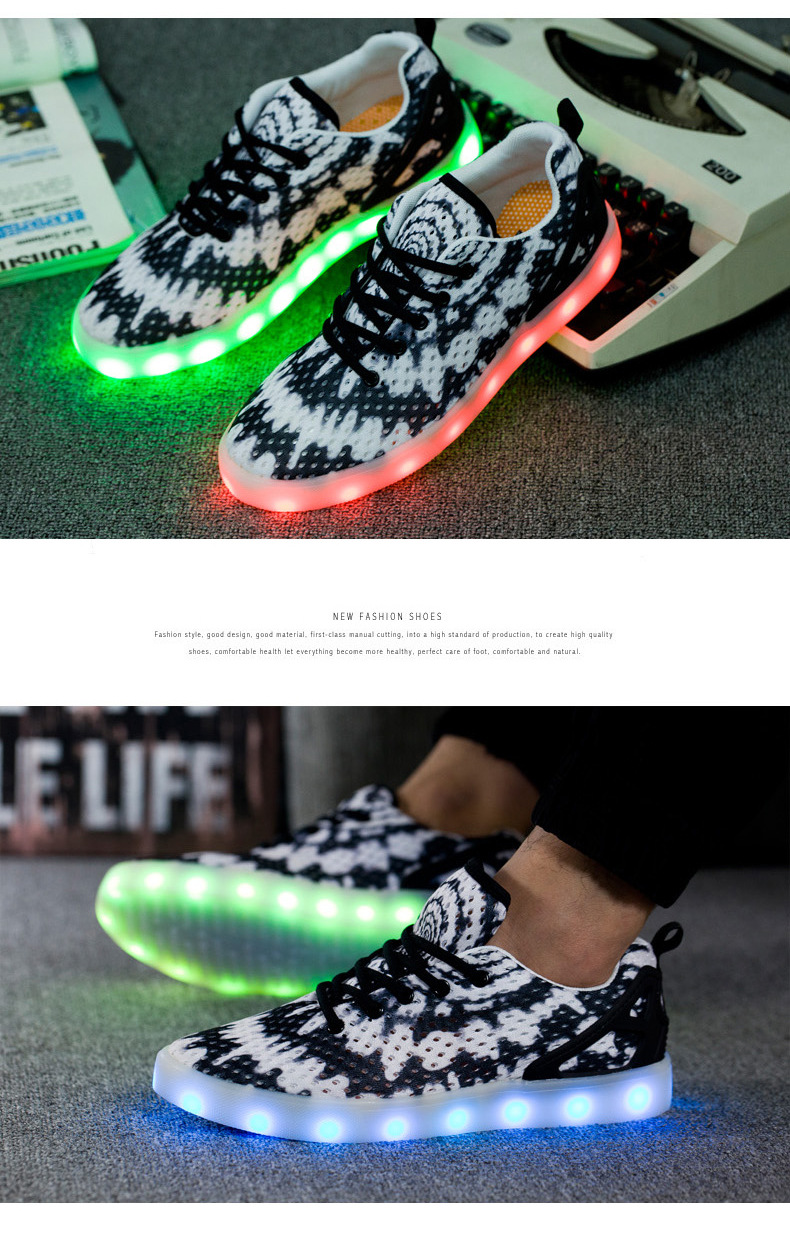 Led Sneakers Honeycomb 5