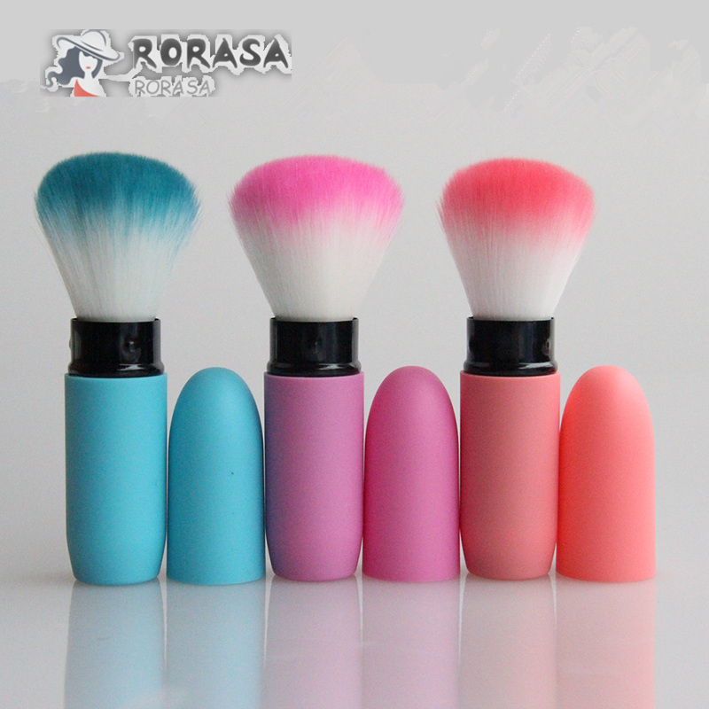 1pcs Retractable makeup brush Mini foundation powder concealer bronzer brushes Beauty cosmetic makeup tool kit pincel maquiagem