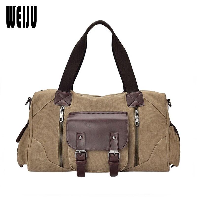 2017 New Men's Canvas Bag Handbag Shoulder Bags Leisure Travel Bag Men Messenger Bags Man's Big Handbags Bolsa Feminina