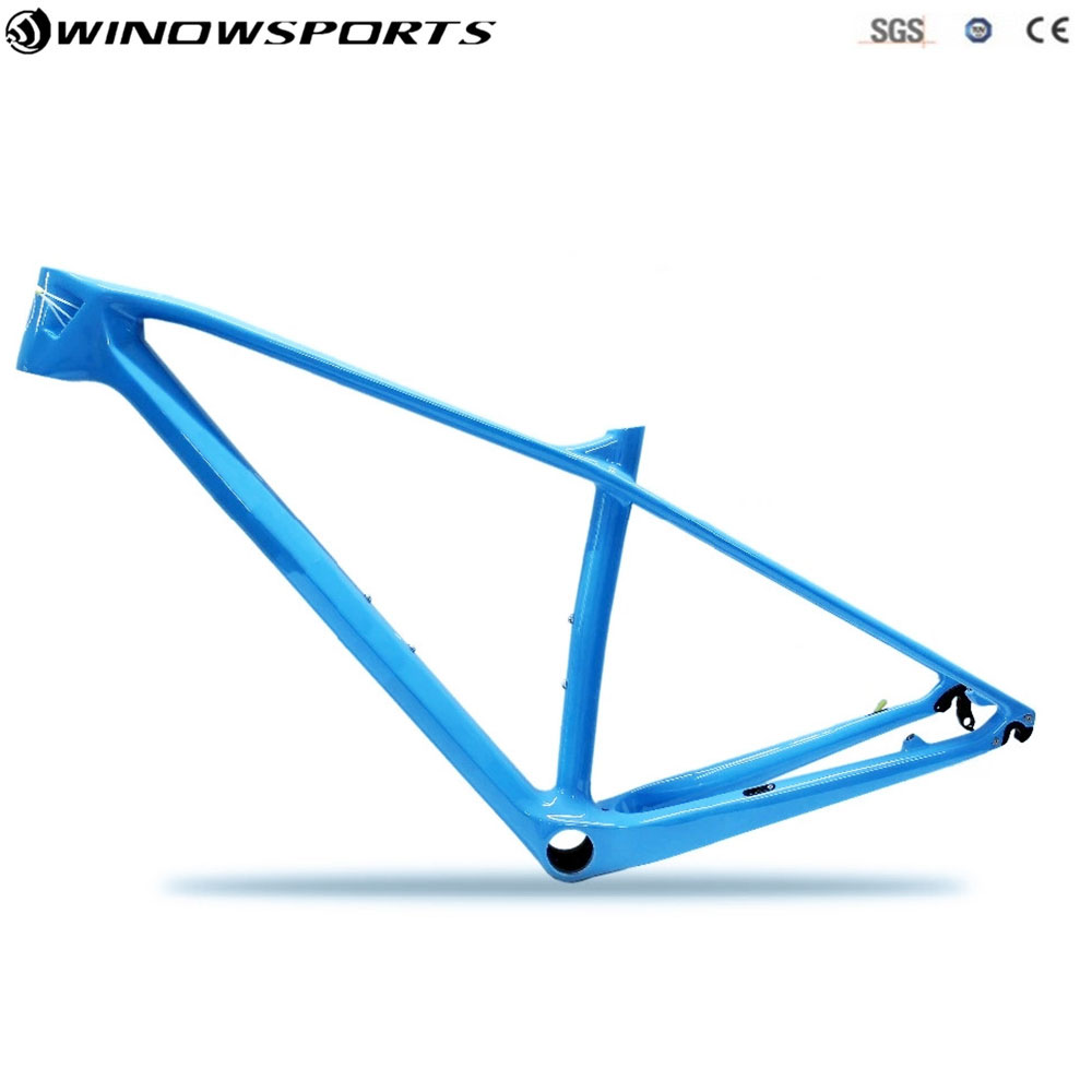 Vélo de montagne de carbone essieu thru 142x12 27.5er VTT cadre en carbone 29er taille XS/S/M /L