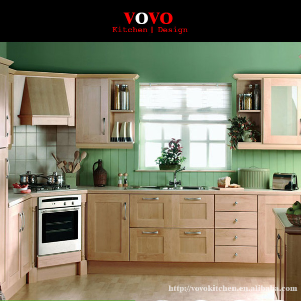 Selling Wooden Kitchen Cabinet With Corner Stove-in