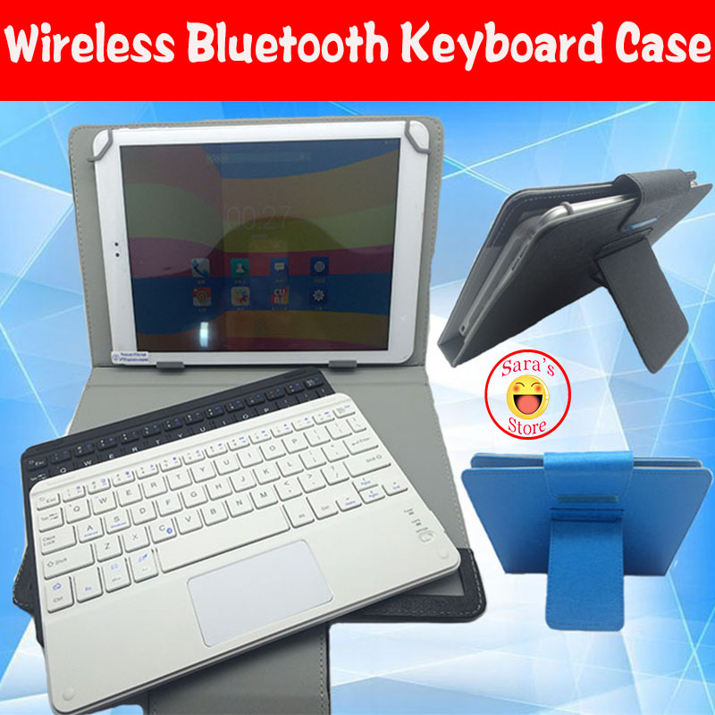 US $14 41 12% OFF|High Quality Universal Bluetooth Keyboard Case Cover For  ASUS VivoTab Smart ME400C ME400 T100TA 10 1