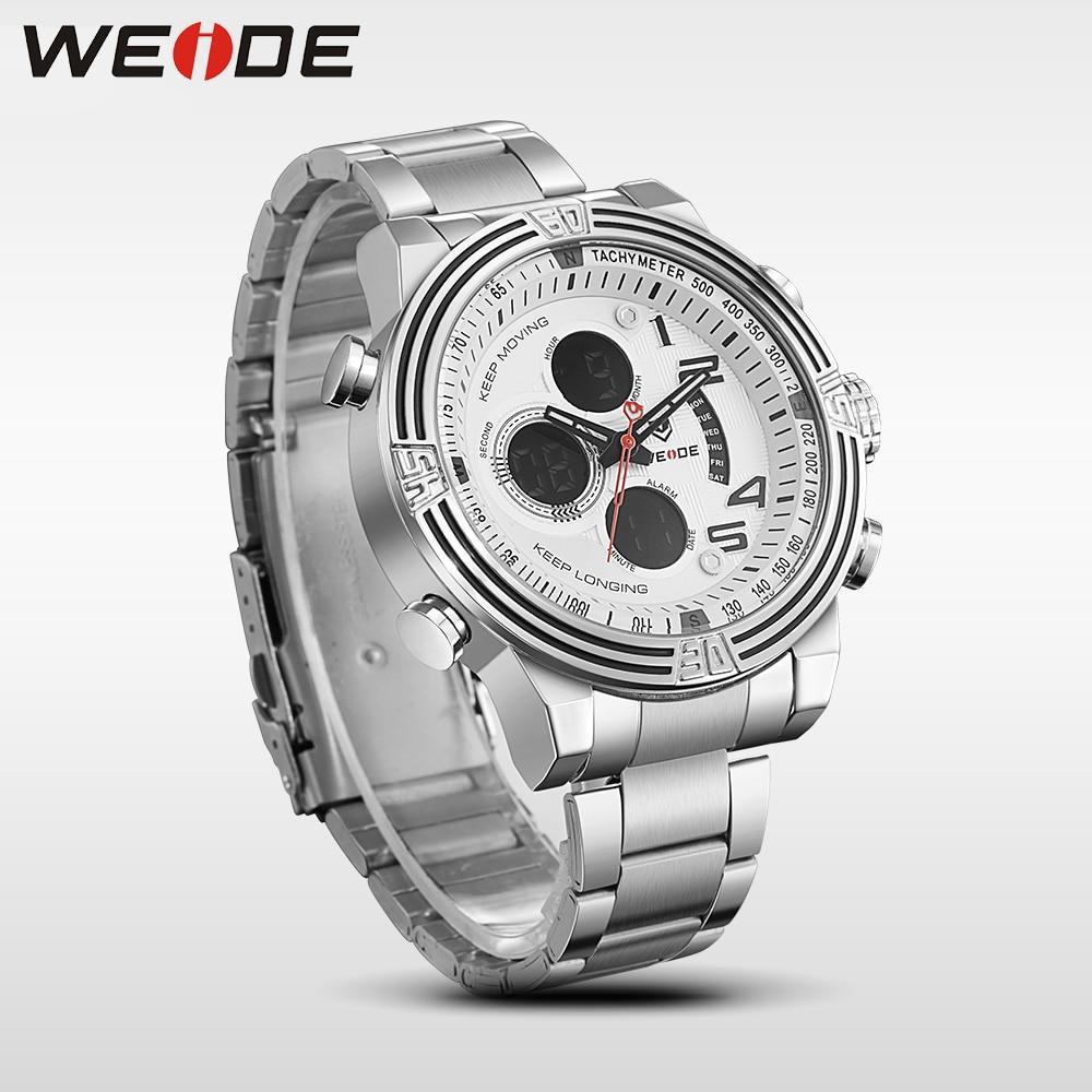 2017 nieuwe hot weide mannen horloges top merk luxe mannen business - Herenhorloges - Foto 4