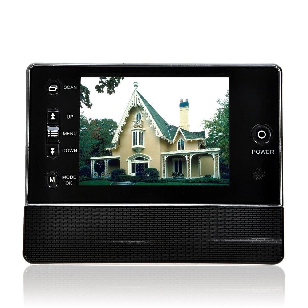 Digital Door Peephole Viewer Camera TFT LCD Color Screen Doorbell Viewer 3 5 inch Door Eye