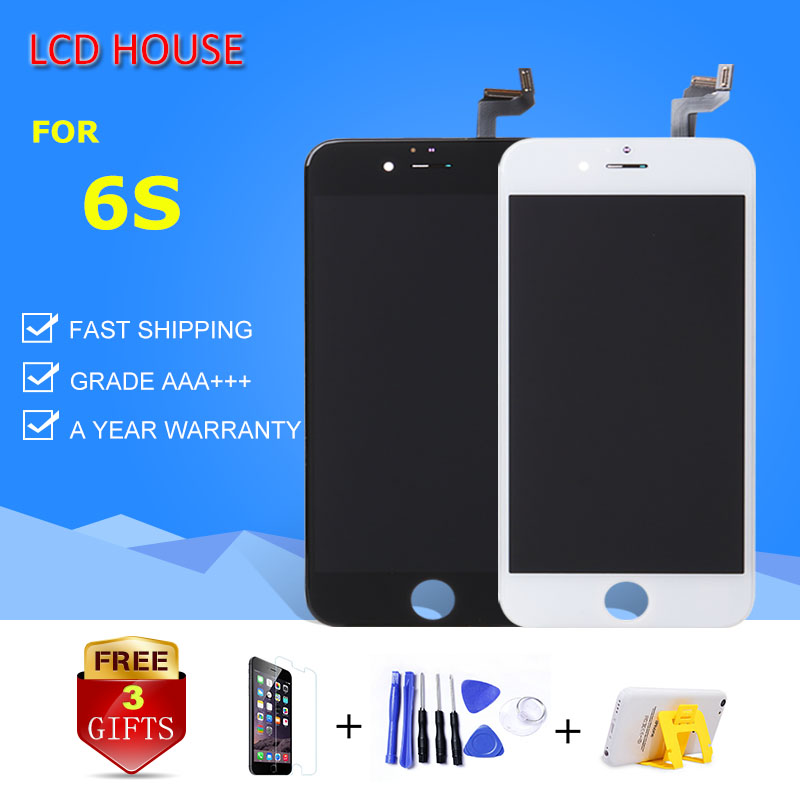 10pcs lot LCD HOUSE Touch Screen For iPhone 6S LCD 4 7 inch size Display with