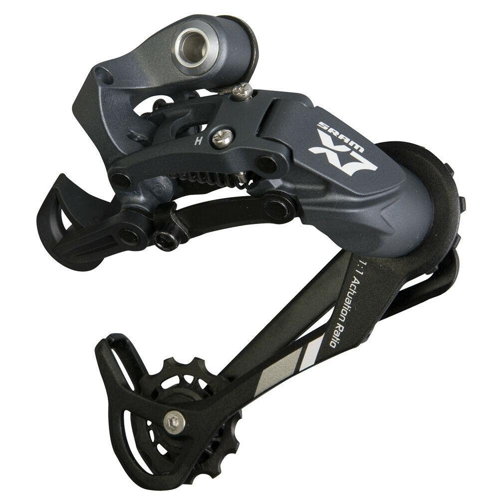 Bicycle SRAM X7 Rear Derailleur 9 Speed Medium Gage