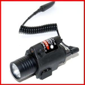 Tactical M6 BK red Laser & Flashlight with CREE LED for rifle scope ...