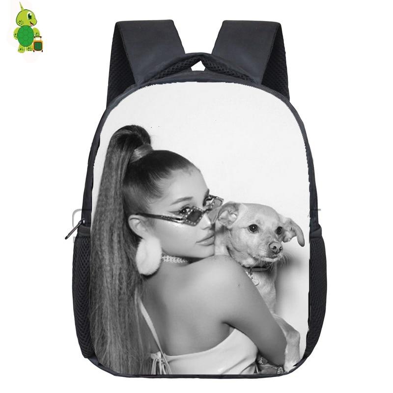 New Ariana Grande Backpack School Bags For Girls Boys Toddler Backpack Primary Kindergarten Backpack Kids Waterproof Bags