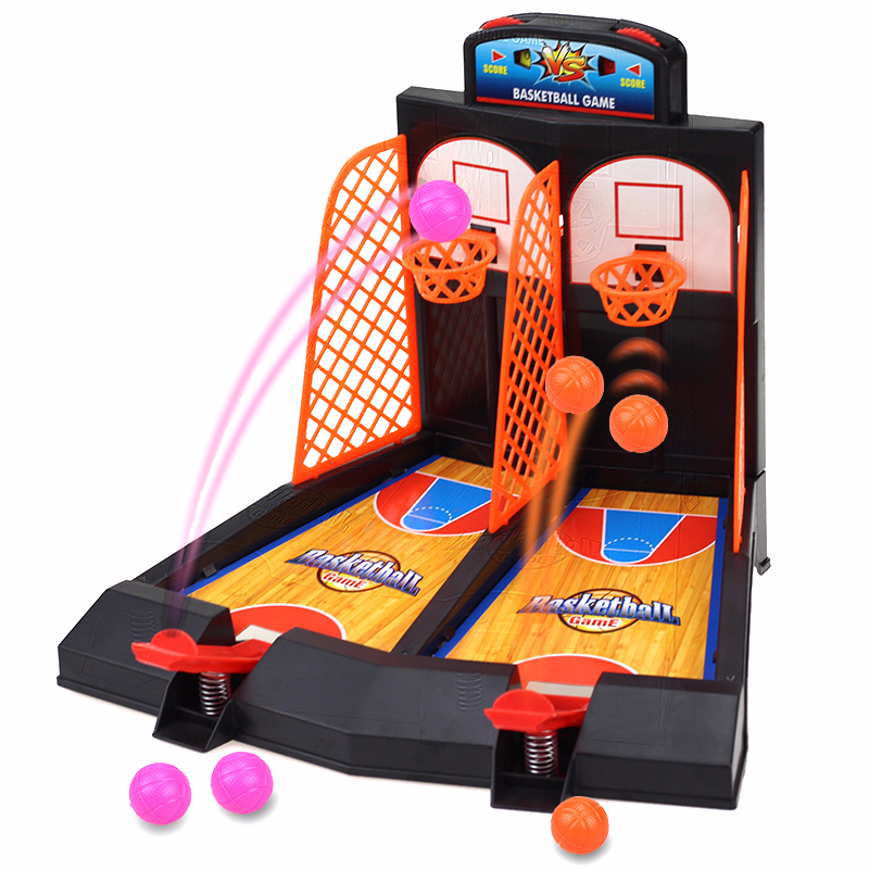 Kids Desk Basketball Toy Funny Children Table Basketball Gift Family Relaxing Available For Early Education Parent-child Games
