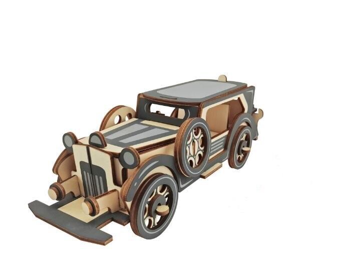 Моделирование Ford Motor Модель 3d Трехмерные Деревянные Головоломки Игрушки для Детей Поделки Ручной Работы Деревянные Головоломки