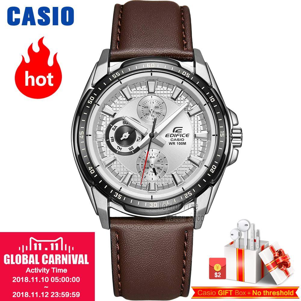 Casio watches CASIO men waterproof fashion leisure business quartz watch EF-336L-7A casio ef 530p 7a