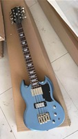 Wholesale New 8 string electric bass guitar In metal blue 170417
