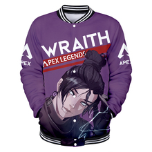 Frdun Tommy Apex Legends 3D Baseball Jacket 2019 Fashion New Game Woemn/Men Harajuku Coats