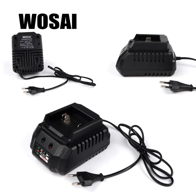 WOSAI 20V elektritööriistade liitiumpatareide laadija adapter - Elektritööriistade tarvikud - Foto 3
