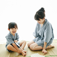 2017 autumn children's baby child kimono in will be dressed short sleeved japanese style girls clothes