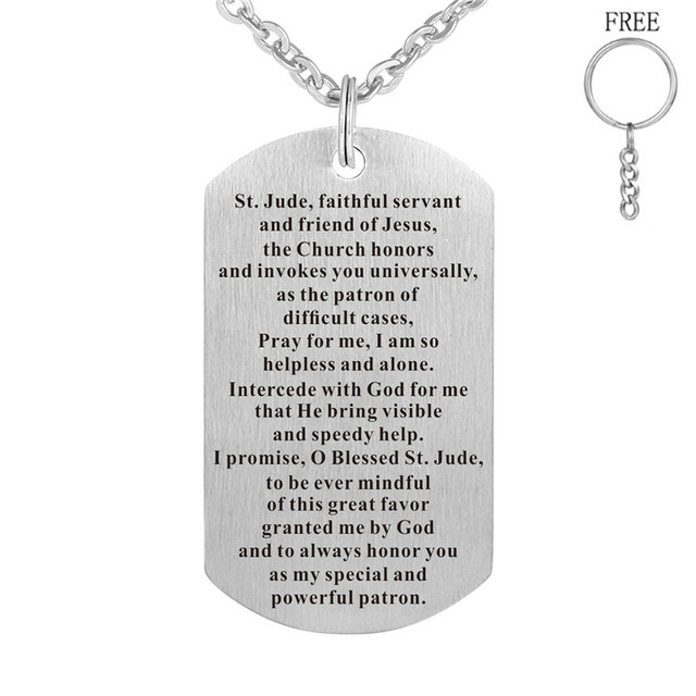 Personalized Id Army Tags Necklace Custom Engraved Dog Tag Pendant Stainless Steel Customized Men Jewelry